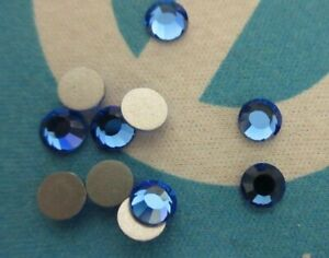 3mm/20ss Swarovski asst colors faceted foiled crystal chaton roses Vintage C704