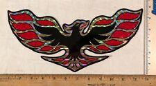 Vintage 1970s Large Pontiac Firebird Logo Decal Bumper Sticker Prism Prismatic
