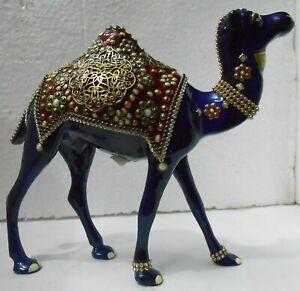 Camel Ship Of Desert Aluminium Metal Statue Home Decorative Indian Art Unique