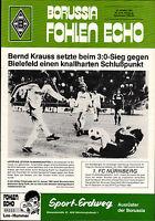 BL 83/84 Borussia Mönchengladbach - 1. FC Nürnberg, 15.10.1983, Bernd Krauss