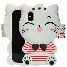 3D Cartoon Disney Silicone Rubber Soft Case Cover For iPhone X 8 iPod Touch 5 6
