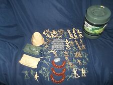 Military Forces True Heros Army Men Playset in Bucket - LOTS of Pieces - Bin J