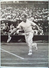 Henri Cochet – 1930 Wimbledon Q-F original photo