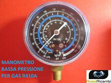 MANOMETRO BASSA PRESSIONE PER GAS REFRIGERANTE GAS R410A FREON 70 mm