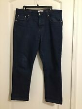 AMI Alexandre Mattiussi Men's Button Fly Jeans Size 33x26 New w/o Tags