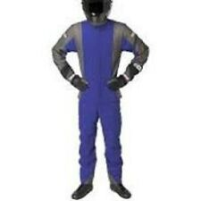 G-Force GF745 Racing Suit BLUE 3XL  XXXL TWO PIECE SFI 3.2A/5 Fire Rated Nomex