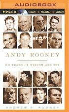 Andy Rooney : 60 Years of Wisdom and Wit by Andy Rooney (2014, MP3 CD,...
