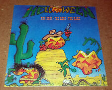 HELLOWEEN - The Best - The Rest - The Rare - vintage sticker