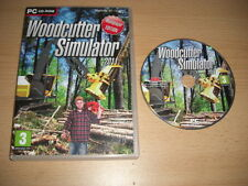 WOODCUTTER SIMULATOR 2011  Pc DVD Rom WOOD CUTTER - FAST DISPATCH