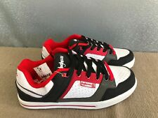 BNWT Mens Teenage Size 8 Rivers Doghouse Cool Red/White Lace Up Jogger Shoes