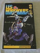 Original NHL Quebec Nordiques 1987-88  Official Hockey Media Guide
