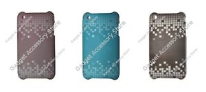 Funky Plastic Mosaic / Pixel Pattern Case for Apple iPhone 3
