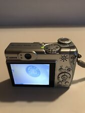 Canon PowerShot A540 6.0MP Digital Camera - Silver Preowned Working With Issue