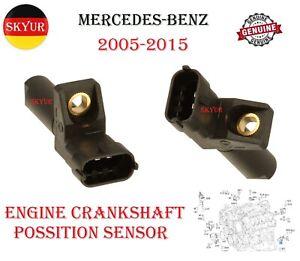 Engine Crankshaft Position Sensor For Mercedes-Benz C CL CLK CLS E G GL ML R S