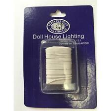 12 volt Twin Flex Wire For Dolls House Lighting DE086