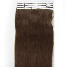 16'' 18'' 20'' Remy Human Hair Extensions Tape in Skin Weft Hair AAAAAAA US Ship