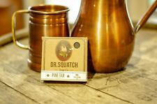 Dr. Squach Pine Tar Scent New 5 oz Charcoal and Oatmeal Exfoliating Bar Soap