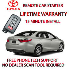 12, 13, 14, 15 16, 17,TOYOTA CAMRY HYBRID REMOTE STARTER NO WIRE SPLICING!
