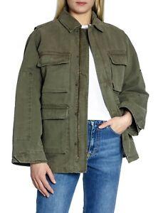 Anine Bing Army/Military Jacket Joey Green Size Medium
