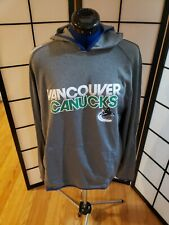 Vancouver Canucks Reebok Center Ice Hoodie Men's L. Pre-owned. Very GOOD.