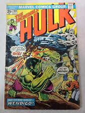 The Incredible Hulk #180 first appearance of Wolverine!