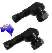 Motorcycle 90 Degree Angle Tyre Valves 8.3mm. Aussie seller. Suit Ducati Aprilia