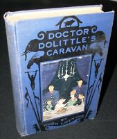 Doctor Dolittle's Caravan by Hugh Lofting, Hb, 1st ed, 1926,Frederick Stokes.Co.