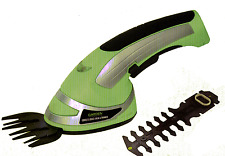 Cordless Grass Shear & Trimmer 2 in 1 New Shearers Hedge / Grass / Lawn Cutter