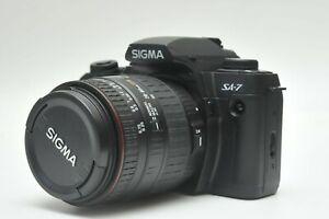 Sigma SA-7 35mm SLR Camera W/28-80mm F3.5-5.6 Aspherical Macro Lens