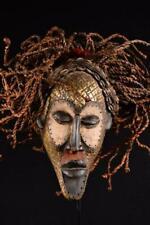 12236 An Old African Chokwe Rasta Mask Dr Kongo