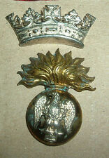 CAP BADGES-ORIGINAL VICTORIAN/BOER WAR ROYAL IRISH FUSILIERS