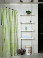 Storage Shower Caddy 4 Tier Kitchen Bathroom Shelf Shelves Unit Postage