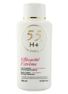 55H+ Paris Efficacite Extreme Strong Treatment Body Lotion 500ml