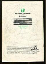 1969 NY Mets Team Signed Program Autographed Hodges Seaver Berra 22 Sigs BAS *96