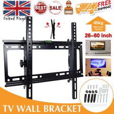 Tilt TV Wall Bracket Mount LCD LED For 26 32 37 40 42 46 50 52 55  60 inch TV