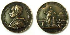 Medaglia Leo XIII Pont. Max. An.XIV 1891 (Incisore F.Bianchi) Bronzo