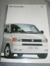VW Caravelle brochure Jul 1994 German text + price list