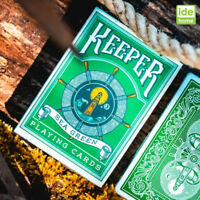 Ellusionist Sea Green Keeper Playing Cards Deck Magic Poker