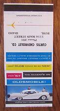 1957 OLDSMOBILE CAR DEALER: CURTIS CHEVROLET (BUHL, IDAHO) -JL5