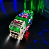 Garbage Truck Toy Toys for 3-9 Year Old Boys,4D Light Universal Wheel