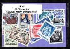 Terres Australes et Antarctiques Françaises TAAF 10 timbres différents