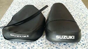 SUZUKI  ts125 ts185 tc125 TS185 seat cover with strap 1974 to 1976 (S29)