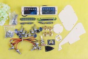 1set New Electric Guitar Kit Guitar hardwares Pickup Bridge Tailpiece Pickguard