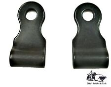Spur Hanger Replacement Set Black Steel Sold in Pairs New Free Shipping