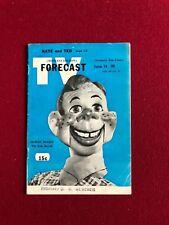 "1952, Howdy Doody, ""TV FORECAST"" (Scarce) (No Label) (Blue Edition)"