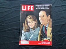 1960 FEBRUARY 22 LIFE MAGAZINE - HENRY FONDA AND JANE FONDA - L 1194