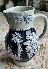 Vintage German Cochem Burg Porcelain Wine Pitcher