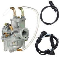 Carburetor Carb & Throttle Choke Cable For Yamaha PW50 PW 50 Y-Zinger 1981-2009