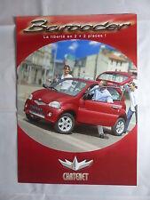 Chatenet Frankreich - Barooder X4 - FR-Prospekt Brochure 2004