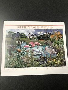 US FDC 4099 Southern Florida Wetland Souvenir Page First Day Of Issue